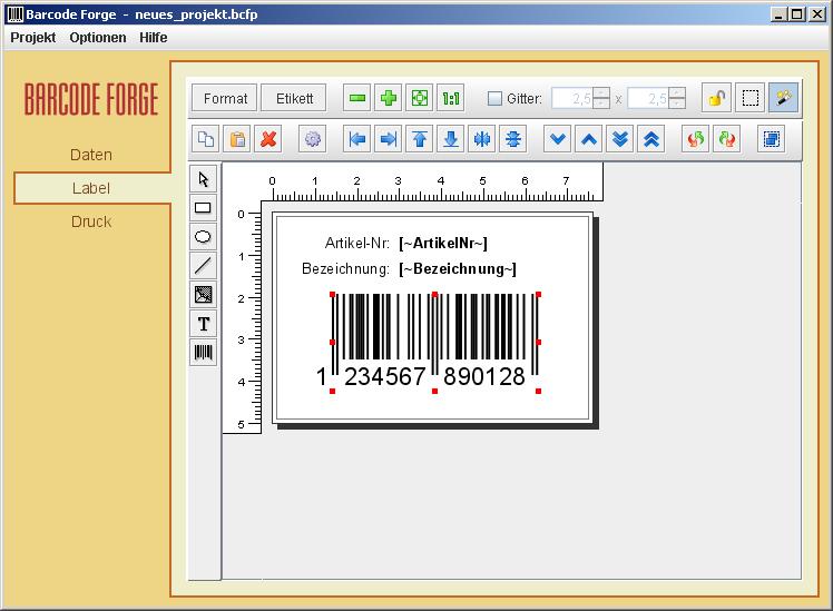 Scienova Webshop - Barcode Forge scienova