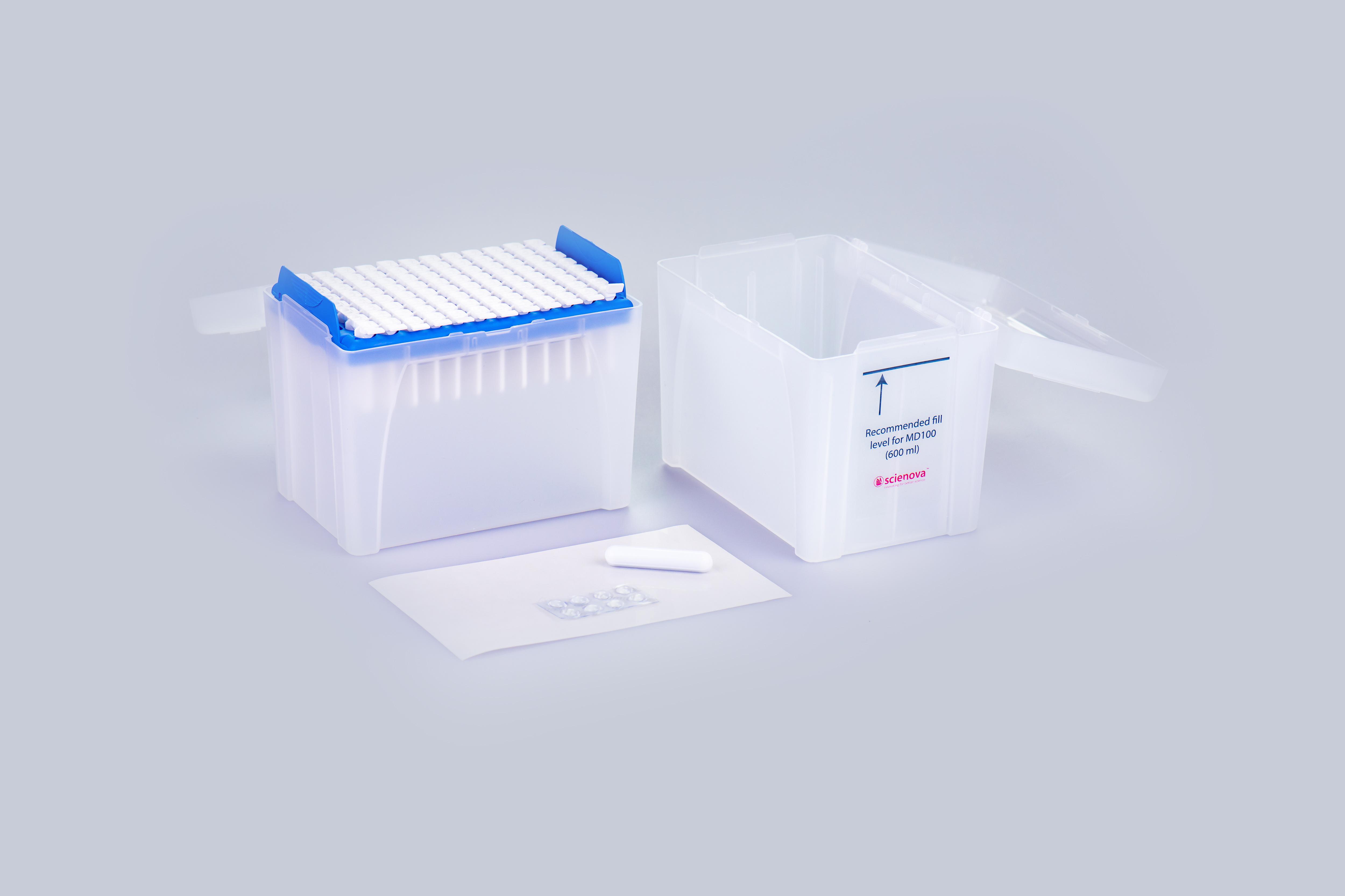 Scienova Webshop - Xpress Magnetic Mixing Dialysis Box MD100
